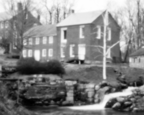 Harrisville Mill #1 (pinhole photo)