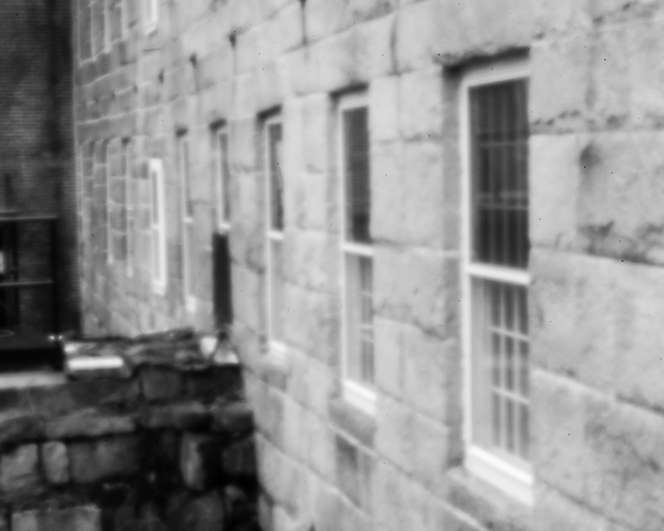 Harrisville Mill Detail #3 (pinhole photo)