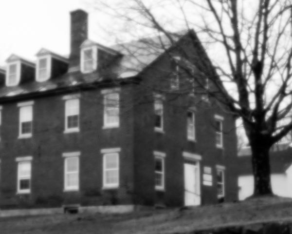 Harrisville Mill #2 (pinhole photo)