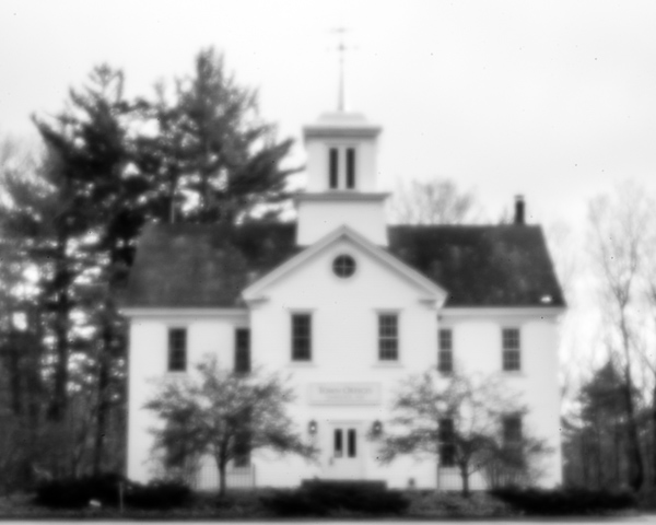 Hancock Town Offices (pinhole photo)