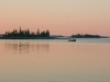 Lobster Boat at Dawn, Hog Island, ME