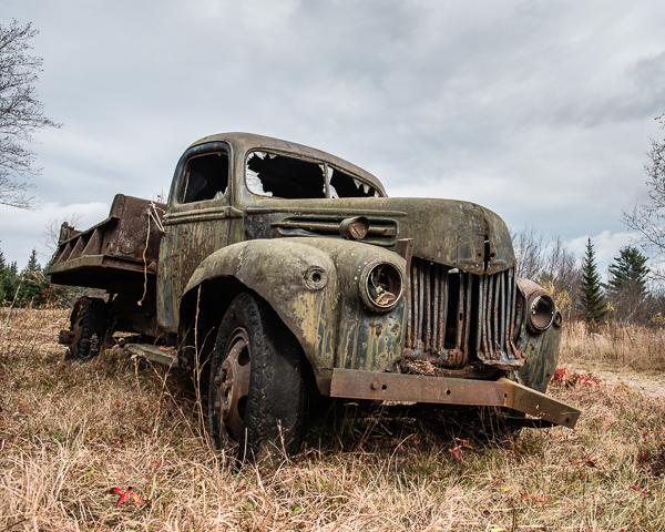 Derelict Truck #1