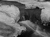 Woodland Stream in Winter (detail) #3