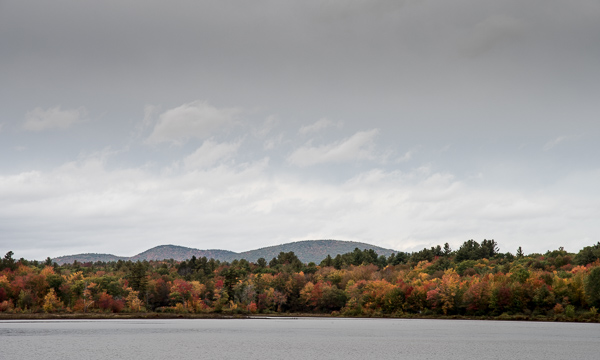 The View North from McDowell Lake in Autumn