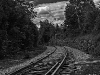 Train tracks at Crawford Notch