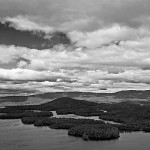 Squam  Lakefrom Eagle Cliffs (NH)