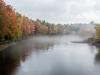 Contoocook River Bend in Autumn