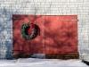 Door with Wreath #5