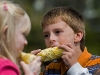 Corn Eating Contest Contestants #1