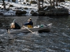 Water Sampling Crew Heading Out (18 April)
