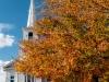 Church with Fall Foliage (Warren, NH)