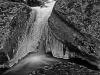 Woodland Stream in Winter (detail) #1